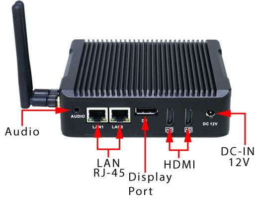 mobilator pl | Industrial Computer Fanless MiniPC Nuc IBOX-501 N5 v