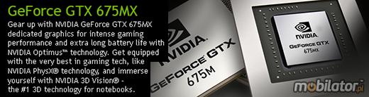 Clevo P370EM nVidia GeForce GTX 675MX