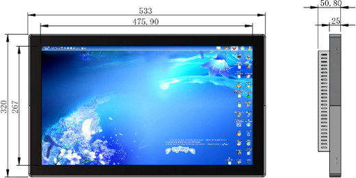 Digital Signage Player - Android 21 5 inch Touch PanelPC