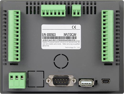 Industrial Operator Panel HMI EX43HA + PLC v 3